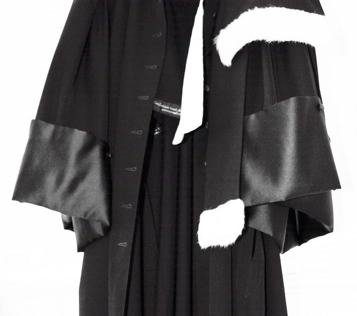 Arceis Avocats - Photo d'une robe d'avocat